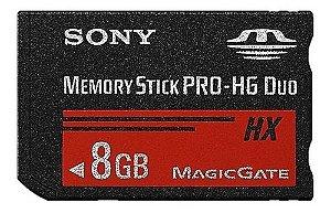 Cartão de Memória Pro-Hg Duo Sony 8Gb - Sem Embalagem