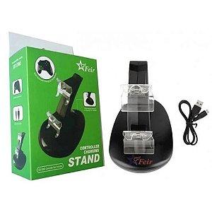 Stand Carregador Duplo Para Controle Xbox One Feir Fr-310-O