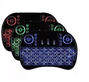 Mini Teclado & Mouse p/ TV Box - Celular - PC - Bluetooth Touchpad