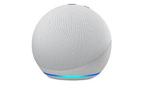 Smart Speaker Amazon Alexa Echo dot 4ª Geração - Branco