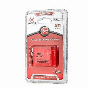 Bateria Telefone sem Fio 280mAh Mox Mo-U115