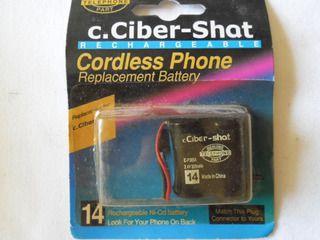 Bateria Telefone sem Fio c.Ciber-Shat 2.4V C-P305A