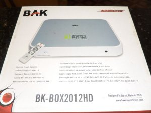 Tv Box Android Bak Bk-Box2012Hd