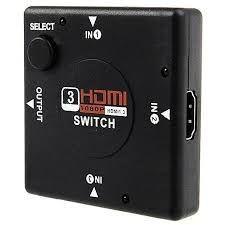 Switch Divisor Hdmi 3x1 Xtrad Xt-3001