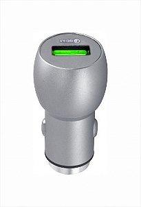 Carregador Fonte Veicular Turbo 5v 9v 12v 3.0 Usb Sumexr