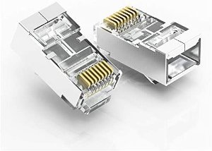 Conector Cabeça Cabo de Rede Ethernet Rj45