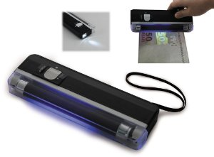 Identificador de Dinheiro Falso Uv Powerpack Drf-2403