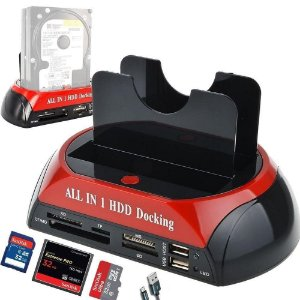 Base All In One Hd/Usb/Sd/MicroSd Hdd Docking Station