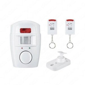 Alarme Sensor de Presença Infravermelho s/Fio c/2 Controles Sd190D