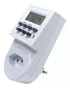Temporizador Digital Tomada Desligamento Automático Bm002