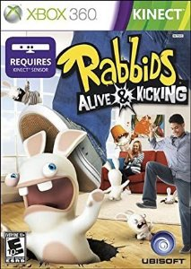 Xbox 360 - Rabbids: Alive & Kicking (Kinect)