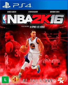 Ps4 - Nba 2K16 - Seminovo