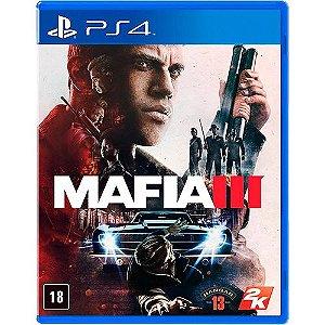 PS4 - Mafia III - Seminovo