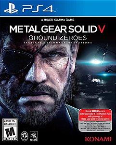 PS4 - Metal Gear Solid V: Ground Zeroes - Seminovo