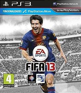 Ps3 - Fifa 13 - Seminovo