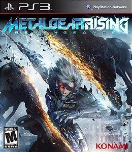 Ps3 - Metal Gear Rising: Revengeance - Seminovo