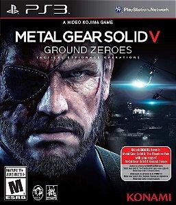 Ps3 - Metal Gear Solid V: Ground Zeroes - Seminovo