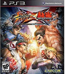 Ps3 - Street Fighter X Tekken - Seminovo