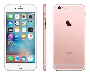 Telefone Celular Smartphone iPhone 6s 16Gb Rose Gold - Vitrine