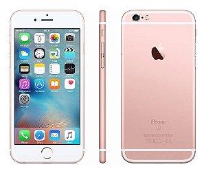 Telefone Celular Smartphone iPhone 6s 16Gb Rose Gold - Vitrine