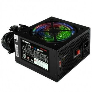 Fonte Atx Satellite 500W Pro590 Cooler Rgb