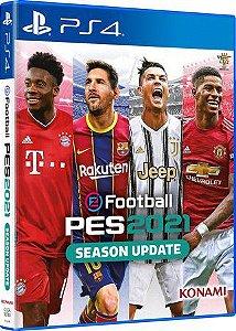PS4 - Pes 2021 - Usado