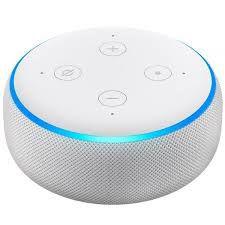 Smart Speaker Amazon Alexa Echo dot 3ª Geração - Branco