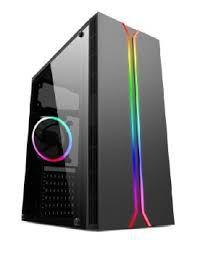 Gabinete Gamer Satellite K877 RGB - Preto