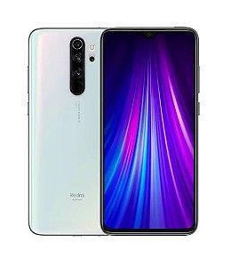 "Telefone Celular Smartphone Xiaomi Redmi Note 8 Pro 128Gb Rom / 6Gb Ram / Tela 6.53"" / Camera 64Mp + 8Mp + 2Mp + 2Mp  - Pearl White - Global"