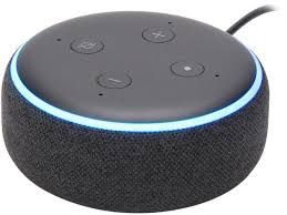 Smart Speaker Amazon Alexa Echo dot 3ª Geração - Preto Charcoal