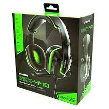 Headset Fones de Ouvido PS4 / XBOX ONE /  SWITCH / PC / CELULAR - DreamGear Grx-440 - Verde