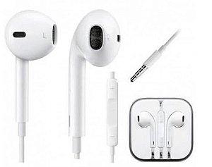 Fone de Ouvido Anatomico C/ Microfone Iphone P2 P3 - EJ-5G