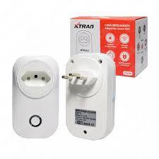 Adaptador de Tomada Inteligente Smart Wifi Alexa - Liga e Desliga - Xtrad - XT-2193
