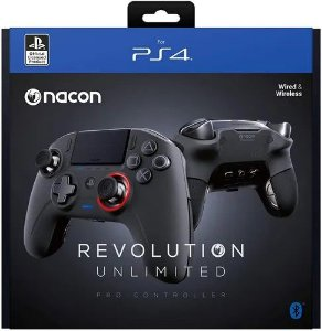Controle Para Playstation 4 PS4 Nacon Pro Revolution Unlimited - Preto