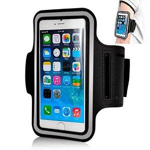 """Braçadeira para Celulares Smartphone e iPhone até 5.5"""" (RE-221)"""