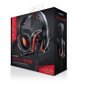 Headset Fones de Ouvido PS4 / XBOX ONE /  SWITCH / PC / CELULAR - DreamGear Grx-440 - Vermelho