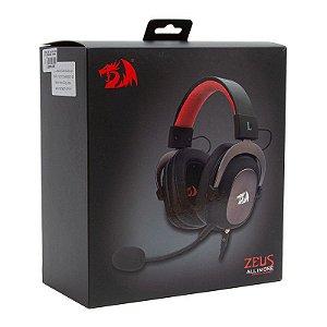 Headset Redragon Zeus 2 Gaming 7.1 USB - Preto (H510-1)