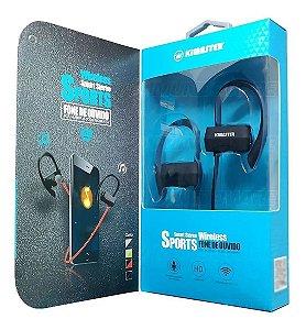 Fone de Ouvido Sports Bluetooth s/ Fio - Kimaster (K30)