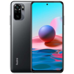 "Celular Xiaomi Redmi Note 10 128Gb Rom / 4Gb Ram / Tela 6.43"" / Dual Chip - Grey Cinza - Global Version"