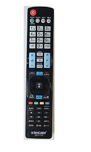 Controle Remoto Universal Tv LG Led LCD 3D - (LE-7710)