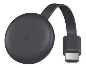 Google Chromecast 3ª Ger. Original HDMI Full HD 1080p
