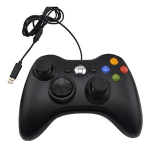 Controle Joystick Wired p/ Xbox 360 c/ Fio - PG (Play Game)