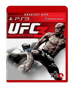 PS3 -  UFC 3 Undisputed - Seminovo
