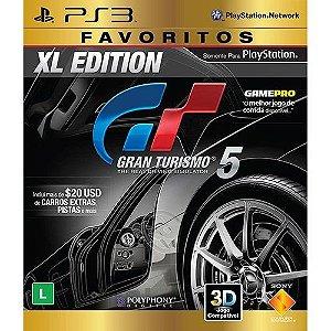 PS3 - Gran Turismo 5 XL Edition - Seminovo