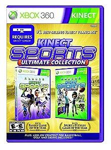 XBOX 360 - Kinect Sports Ultimate Collection - Seminovo