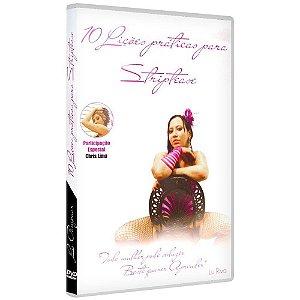 DVD 10 LIÇÕES PRÁTICAS PARA STRIP TEASE LU POMPOAR