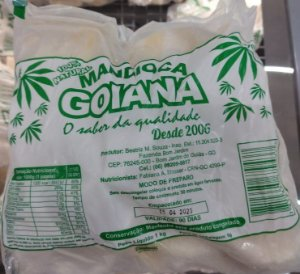 Mandioca Saquinho Goiana 1Kg