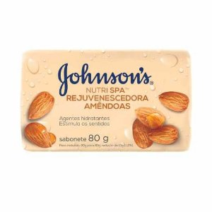 Sabonete Johnson's Amêndoas 80g
