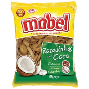 Bolacha Mabel Rosquinha Coco 800g