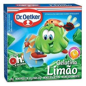 Gelatina Framboesa Dr. Oetker